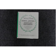 Wurlitzer Service Manual Remote Control and Aux equipment