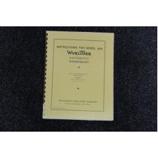 Wurlitzer Service Manual 950