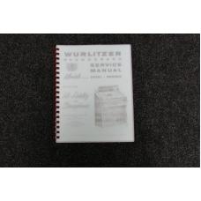 Wurlitzer Service Manual 2600 series