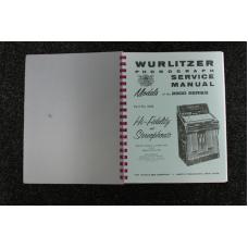 Wurlitzer Service Manual 2800 series