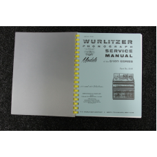 Wurlitzer Service Manual 3100 series