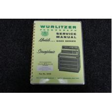 Wurlitzer Service Manual 3400 series