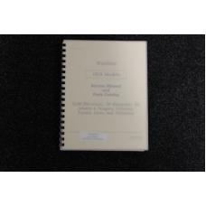 Wurlitzer Service Manual and Parts Catalog 1979 models