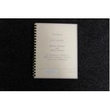 Wurlitzer Service Manual and Parts Catalog 1978 models