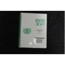 Wurlitzer Service Manual 3600 Series