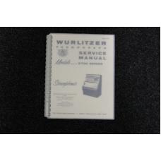 Wurlitzer Service Manual 3700 series