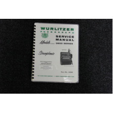 Wurlitzer Service Manual 3800 series