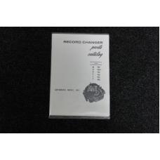 Wurlitzer Record Changer Parts Catalog - Model 900, 900-1, 950, 960, 985, 990