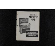 Rock-Ola - Service Manual Model Mystic 478