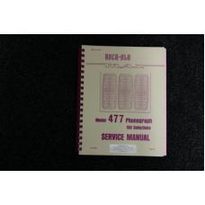 Rock-Ola - Service Manual Model 477