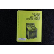 Rock-Ola - Parts Catalog Model 432