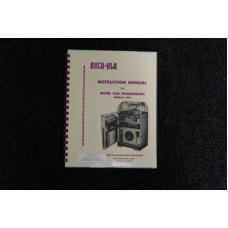 Rock-Ola - Instruction Manual Model 1436