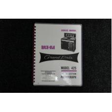 Rock-Ola - Service Manual Model 425