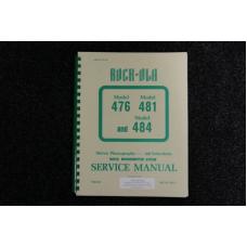 Rock-Ola - Service Manual Model 476, 481, 484
