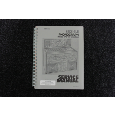 Rock-Ola - Service Manual Model 470