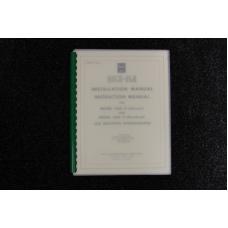Rock-Ola - Installation/Instruction Manual Model 1455 D, 1455 S