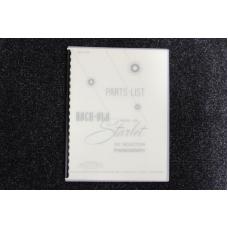 Rock-Ola - Parts List Model 429 Starlet