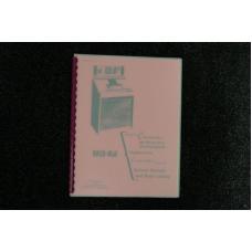 Rock-Ola - Service  Manual and Parts Catalog Model 434 431
