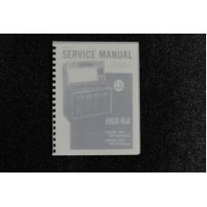 Rock-Ola - Service Manual Model 444, 445