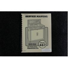 Rock-Ola - Service Manual Model 467