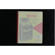 Rock-Ola - Service and Parts Manual Models 418S and 418SA