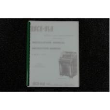 Rock-Ola - Installation/Instruction Manual, Parts List Model 1438