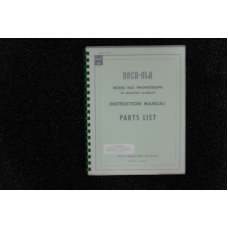 Rock-Ola - Instruction Manual and Parts List  Model 1462
