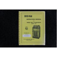 Rock-Ola - Instruction Manual Model 1436-A