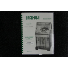 Rock-Ola - Service Manual Model 1452