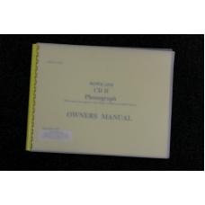 Rowe AMI - Owners Manual - CD II