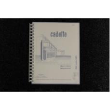 Rowe AMI - Service Manual Cadette