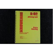 Rowe AMI - Parts Catalog Model R82