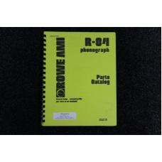 Rowe AMI - Parts Catalog Model R-84