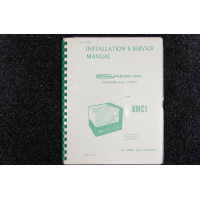 Seeburg - Installation and Service Manual Model BMC1