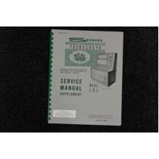 Seeburg - Service Manual Supplement Model LS2