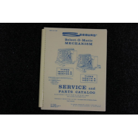 Seeburg - Service and Parts Catalog Models 160ST29(5), 145ST16(5)